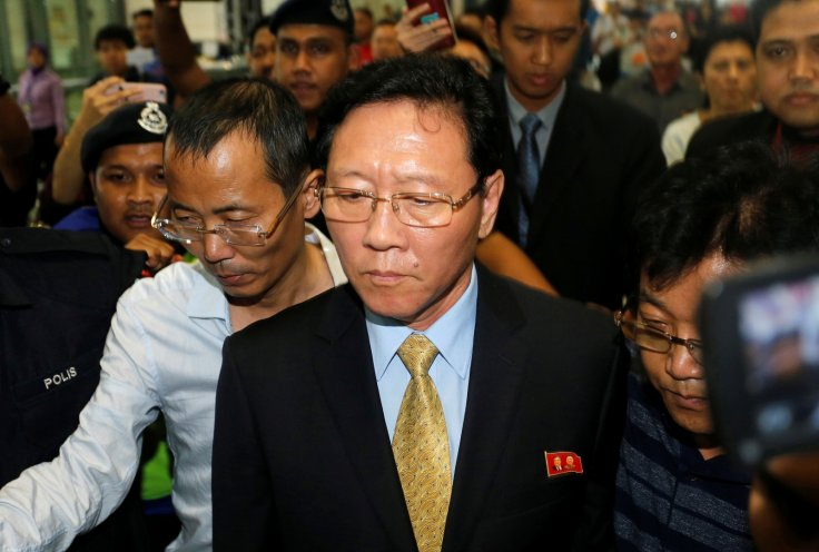 North Korean ambassador Kang Chol