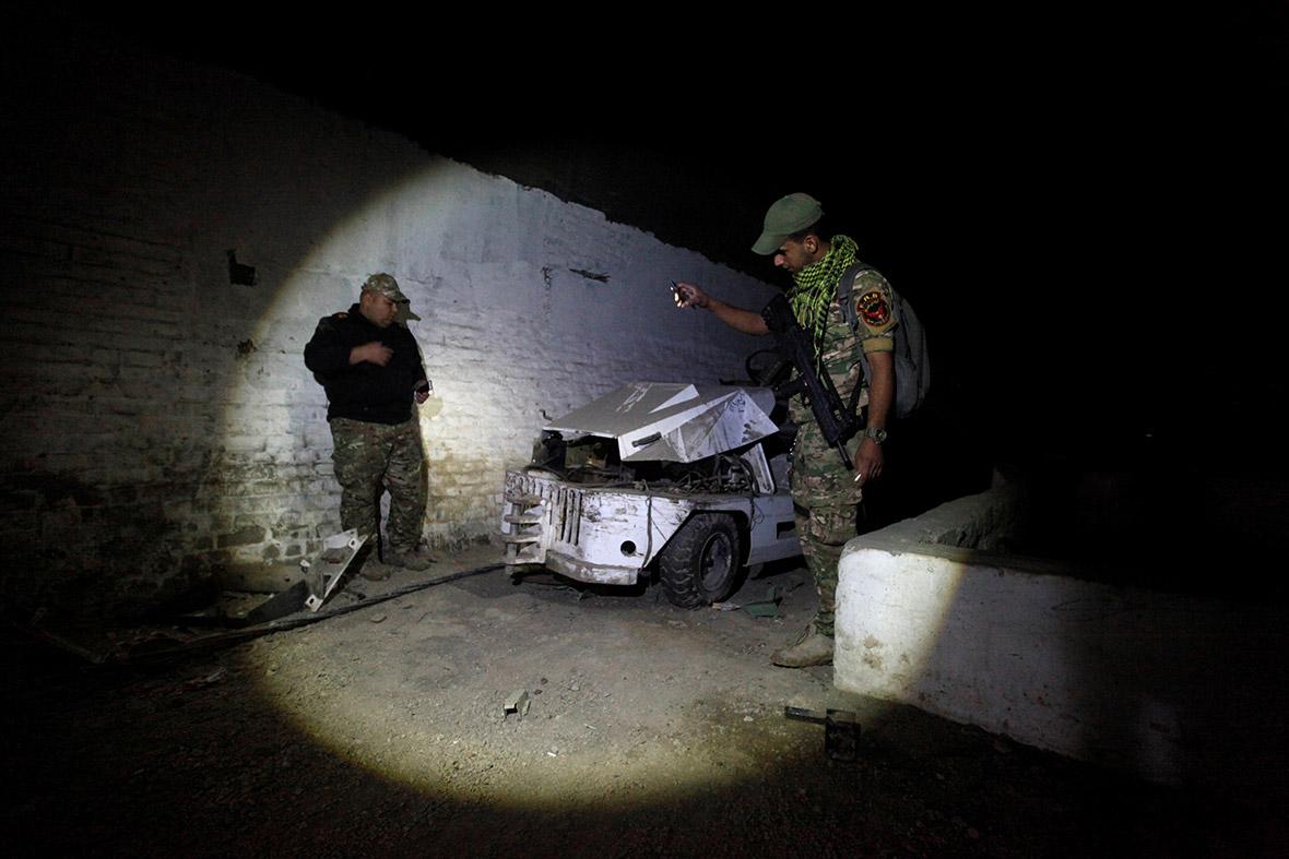 Mosul tunnels