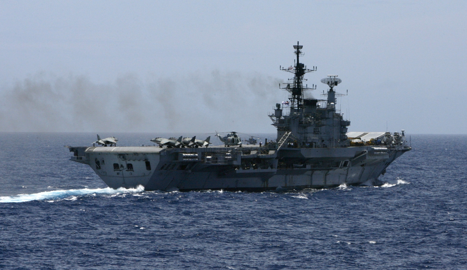 Indian navy INS Viraat
