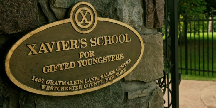 Xavier's School for Gifted Youngsters sign