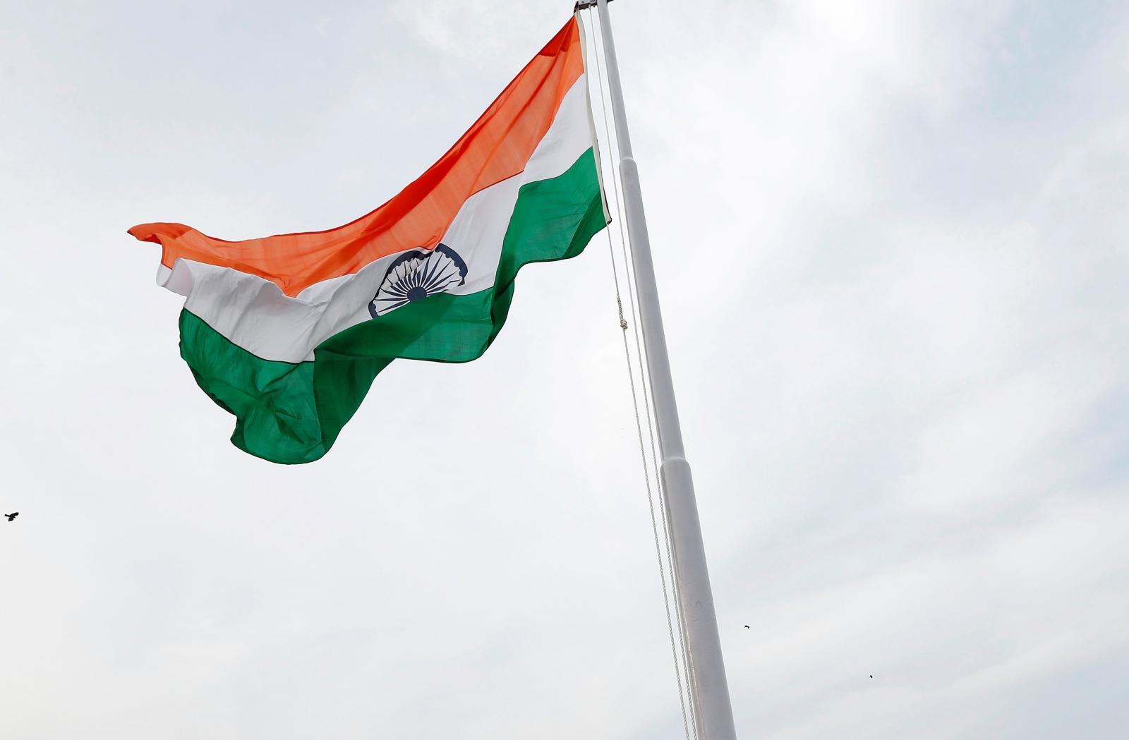 India tricolour flag