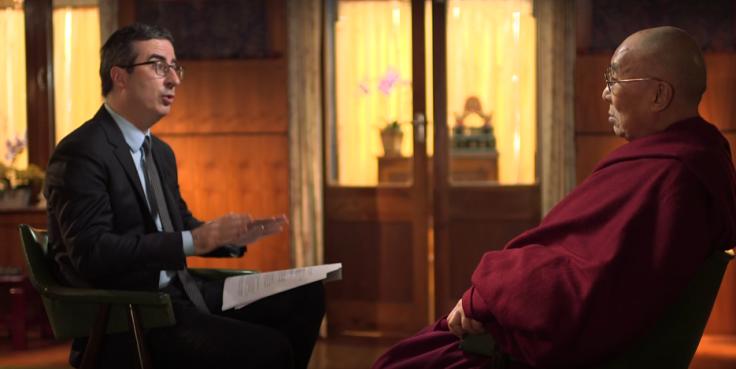 John Oliver, Dalai Lama