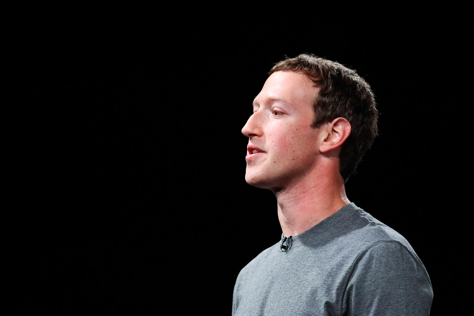 Founder CEO Facebook Mark Zuckerberg