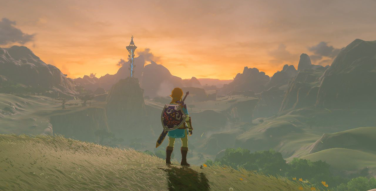 Legend Zelda Breath Wild