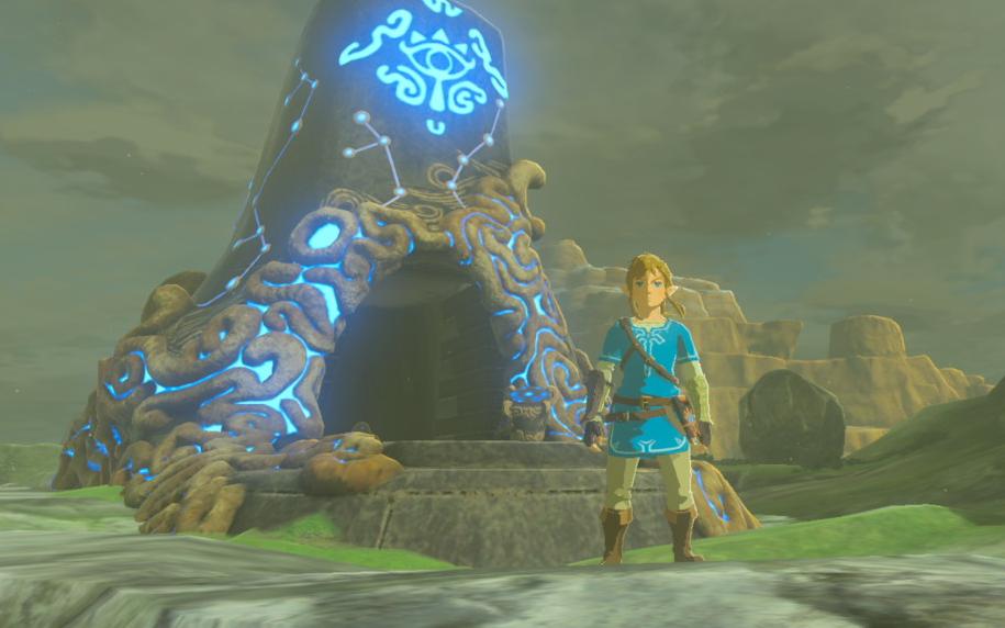 Zelda Breath of the Wild Shrines
