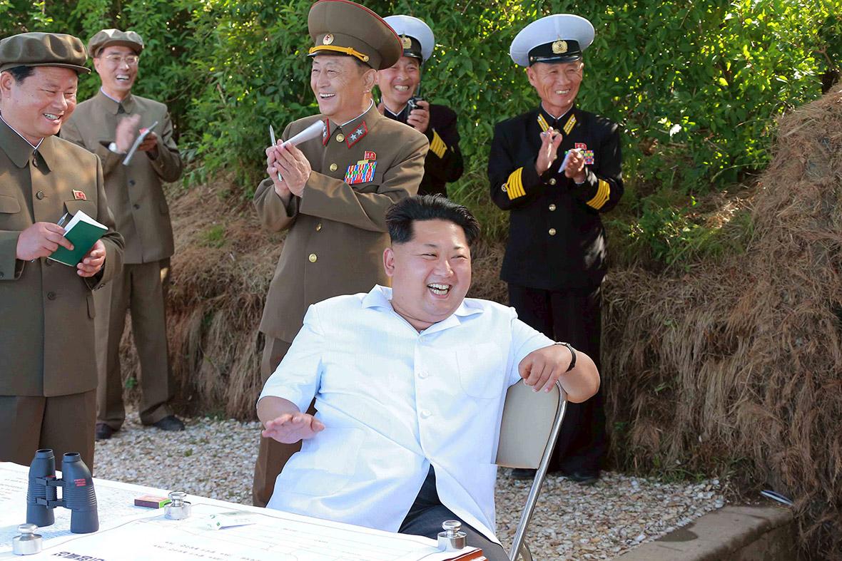 North Korea Kim Jong-un missiles