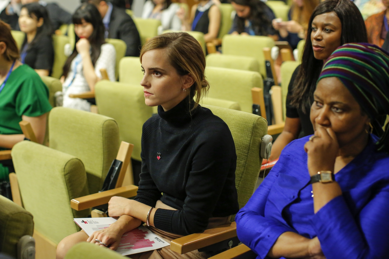 It's Emma Watson's feminist voice that offends people – not her breasts