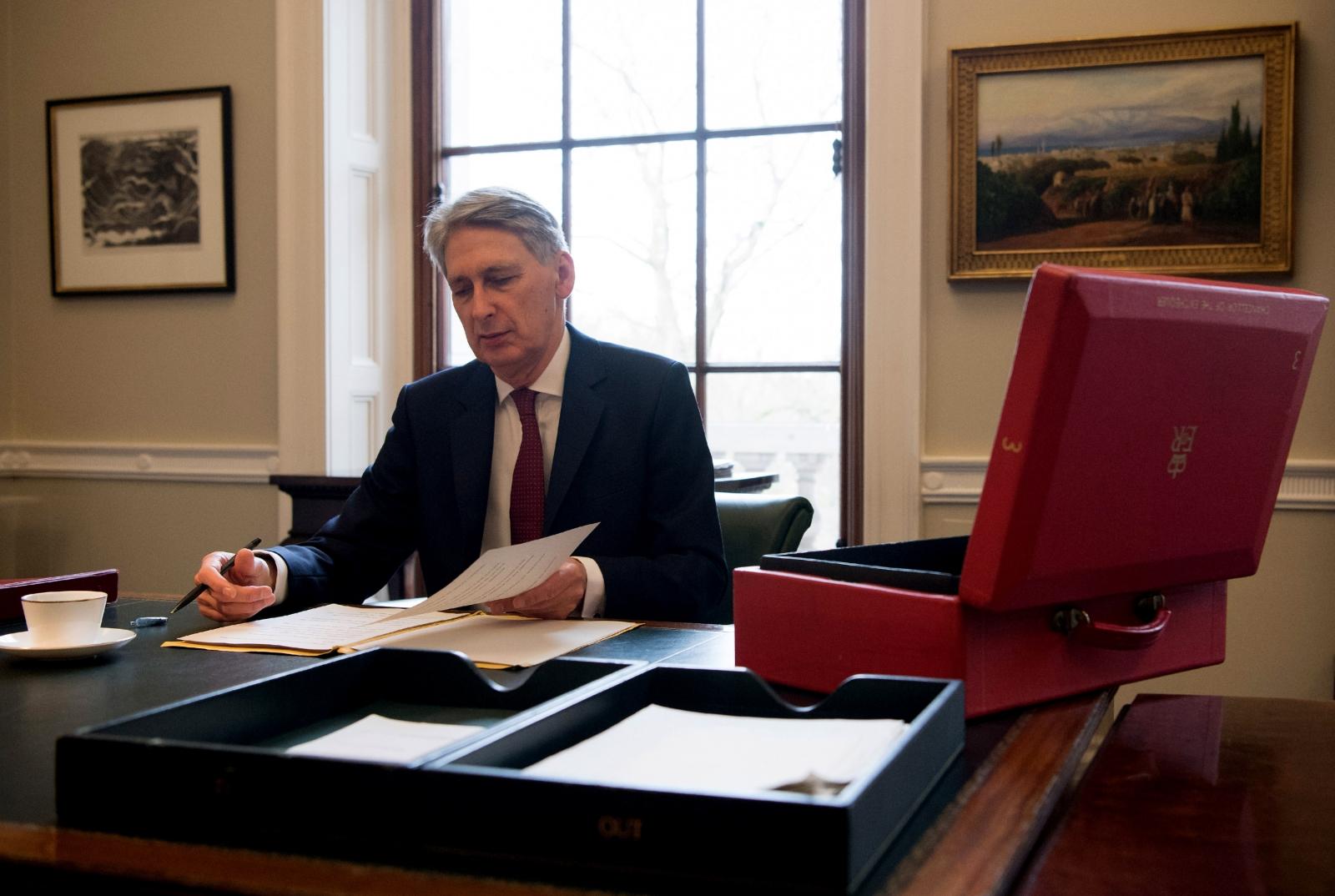 Budget 2017 Chancellor Philip Hammond