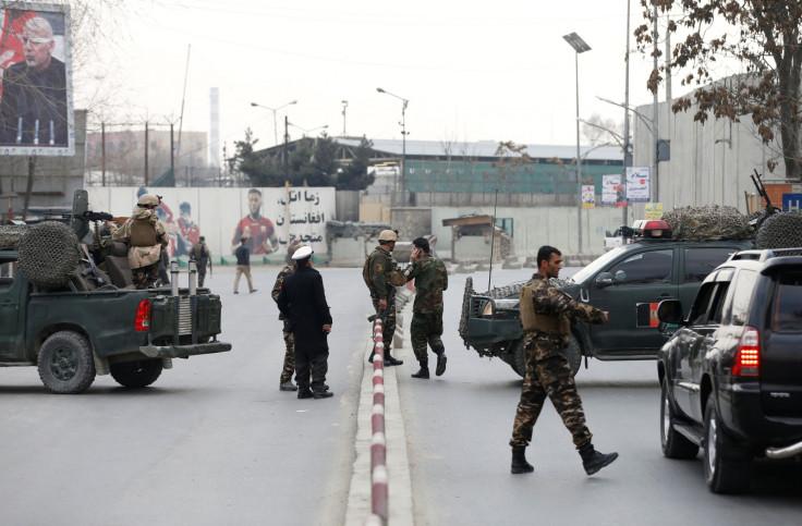 Kabul military hospital attack