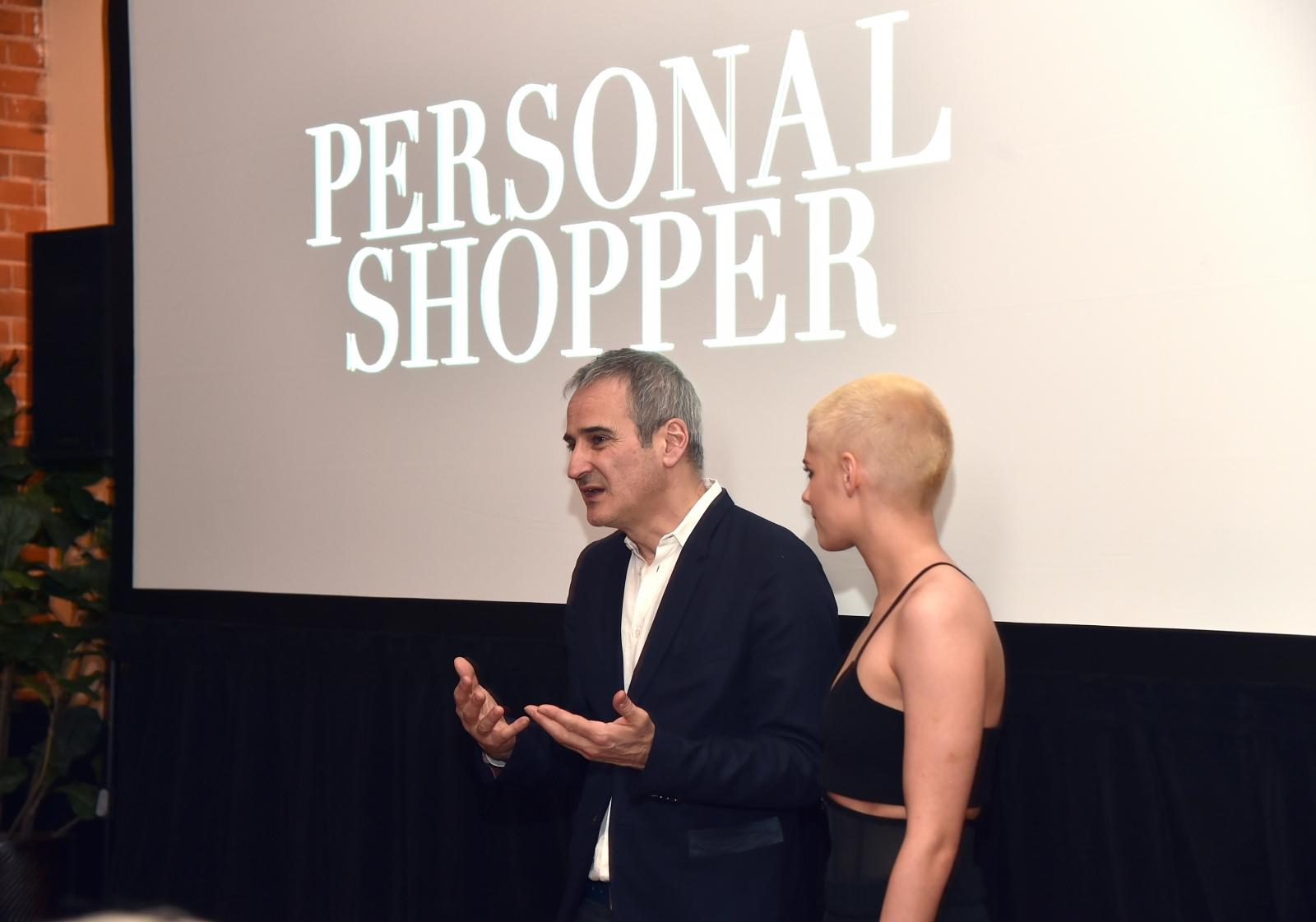Olivier Assayas and Kristen Stewart