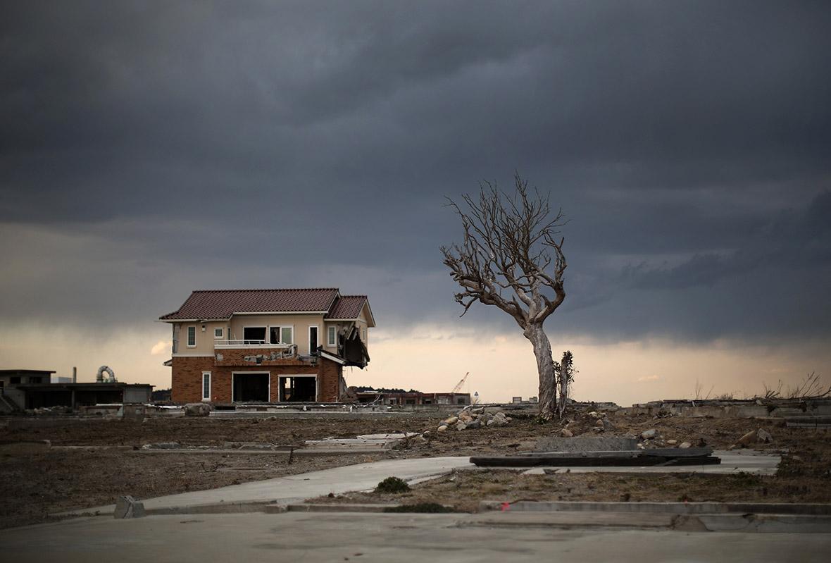 Return to Fukushima exclusion zone Namie tsunami