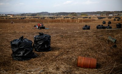 Return to Fukushima exclusion zone Namie tsunami