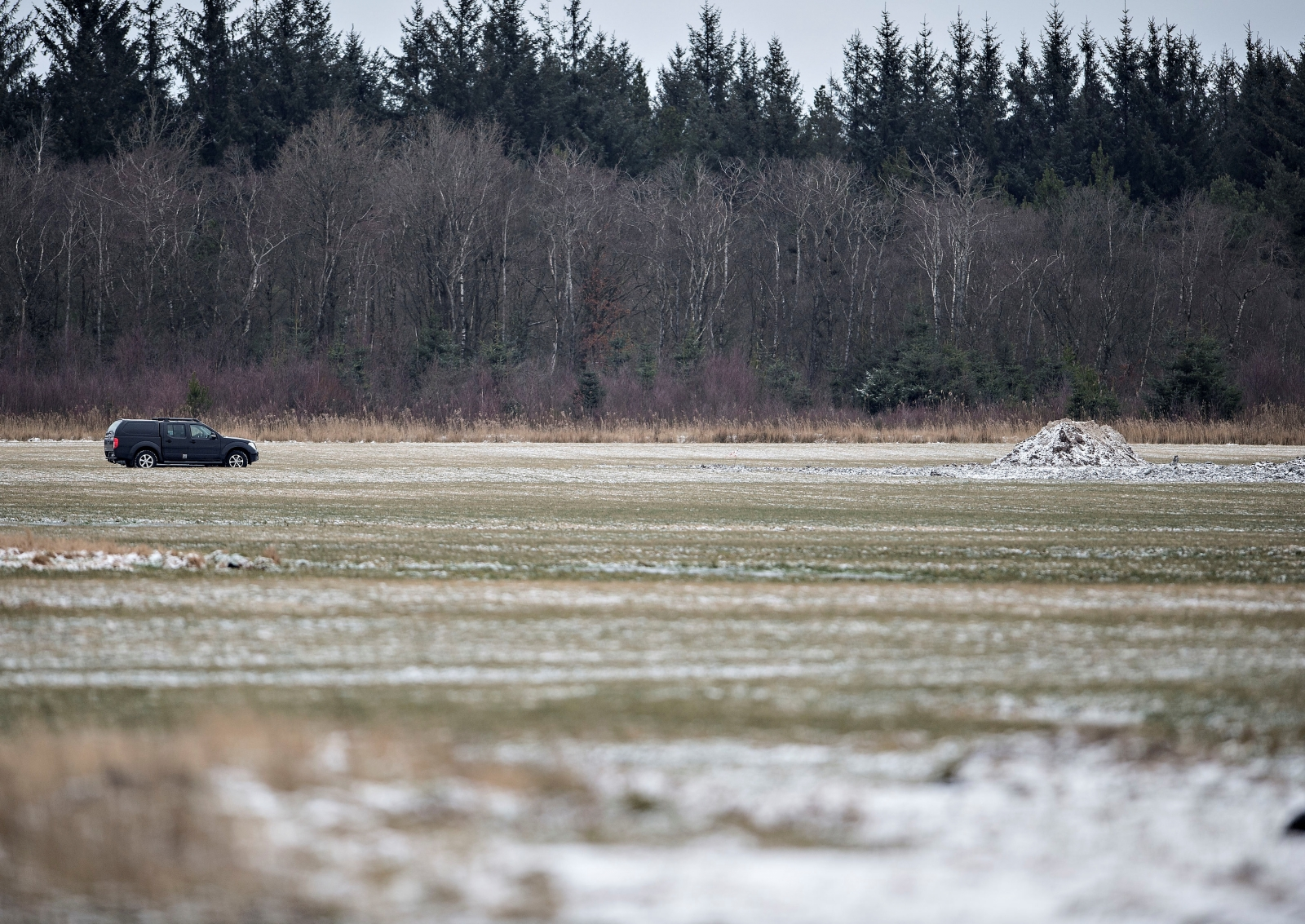 Danish boy finds remains of German Messerschmitt in a field
