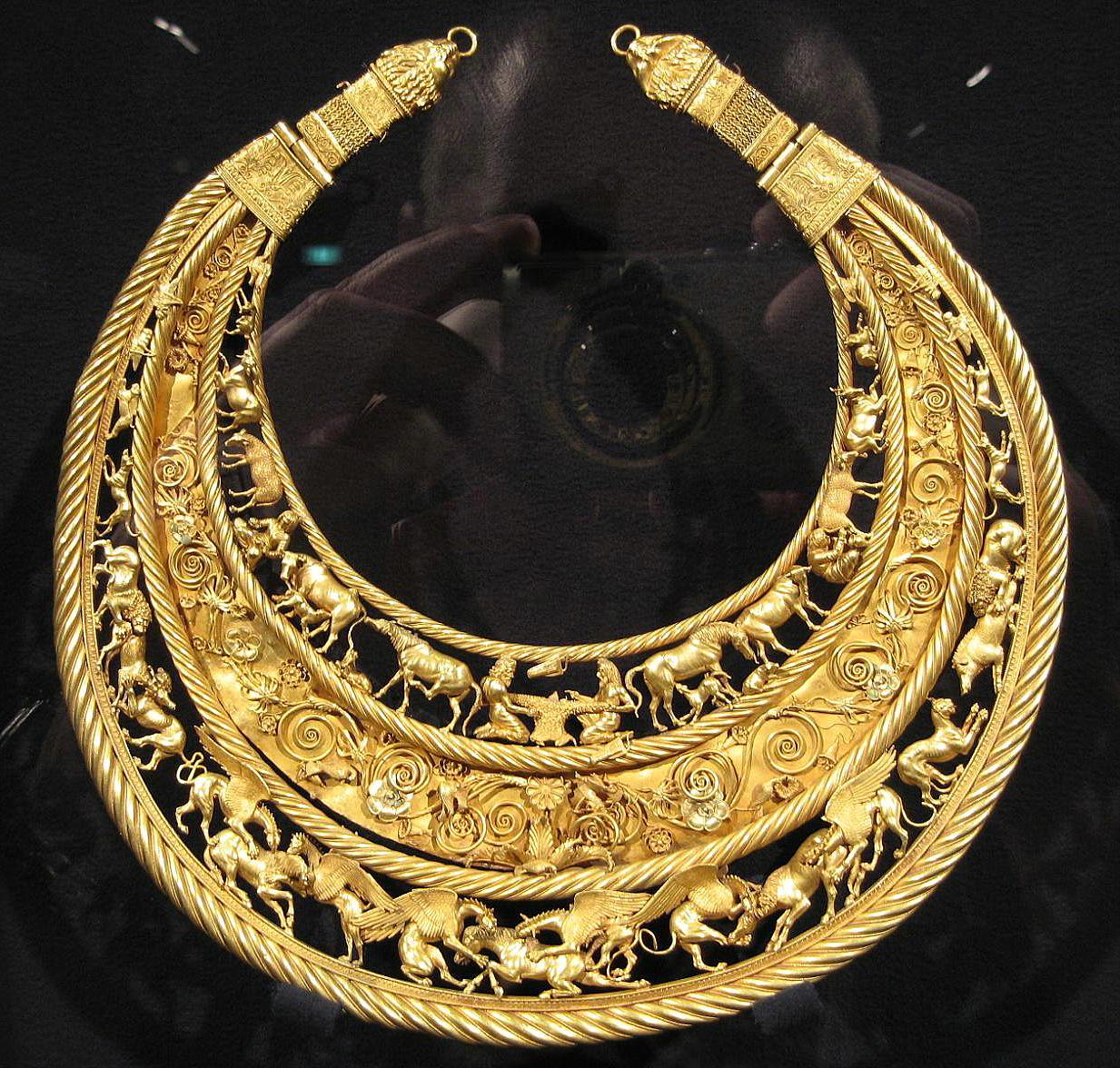 Scythian necklace