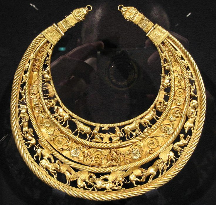 Scythian necklace