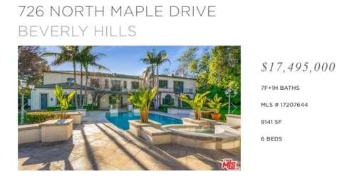 Pascaline Bongo's Berverly Hills mansion