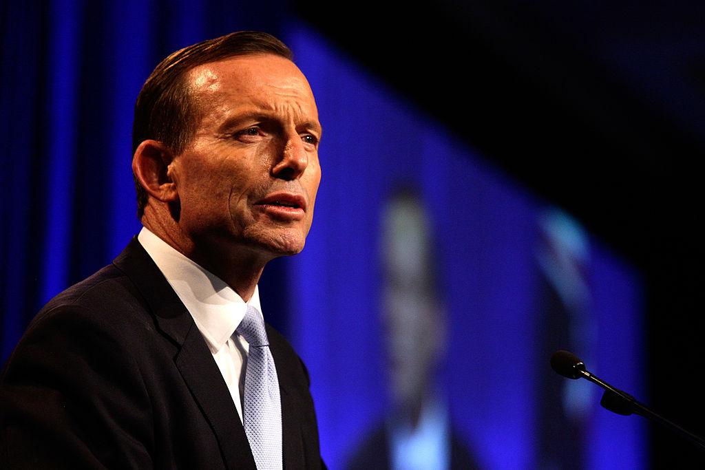Former Australian PM Tony Abbott will beguest-of-honoura