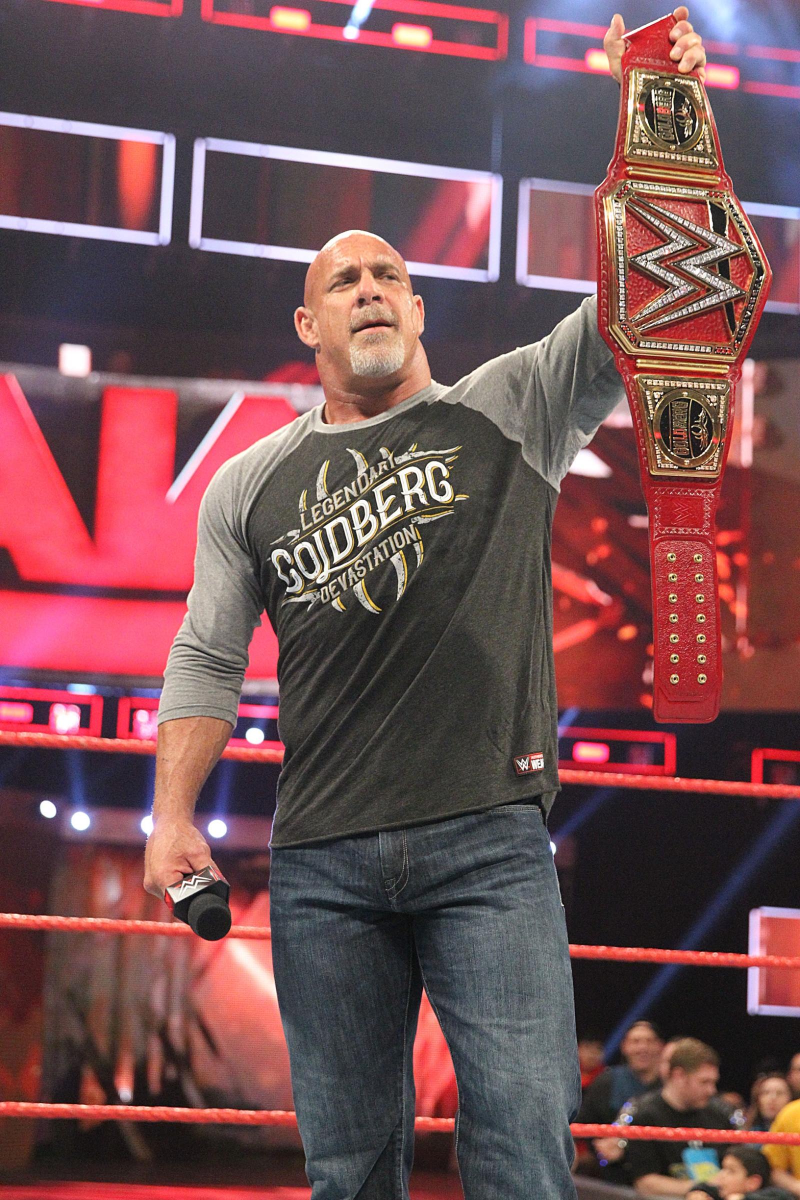 WWE RAW Goldberg