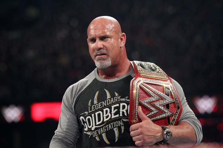 WWE RAW Goldberg