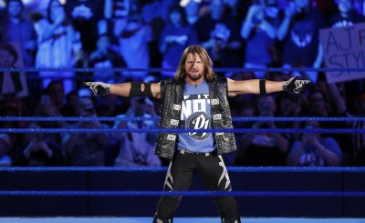 WWE Smackdown Live AJ Styles