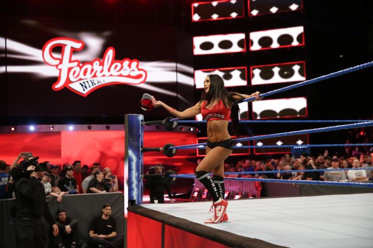 WWE Smackdown Live Nikki Bella