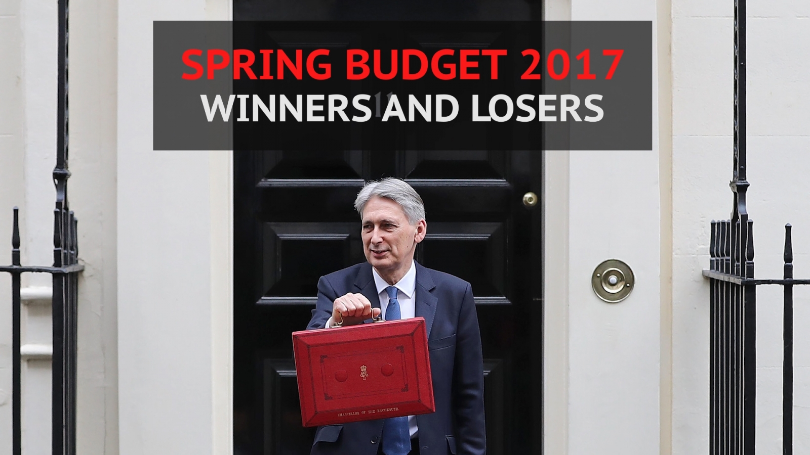 Spring Budget 2017: Winners and losers