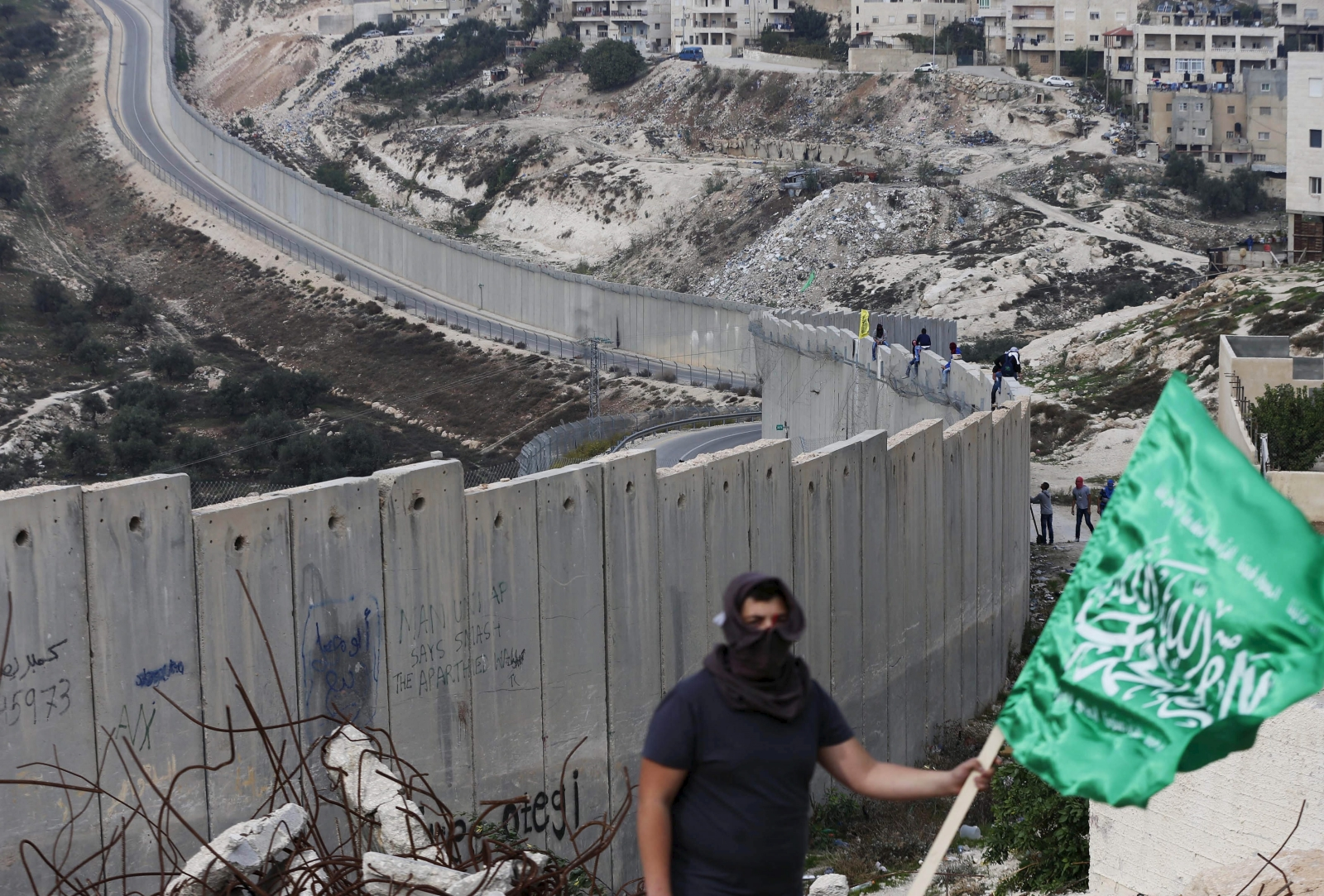 Palestine Hamas flag
