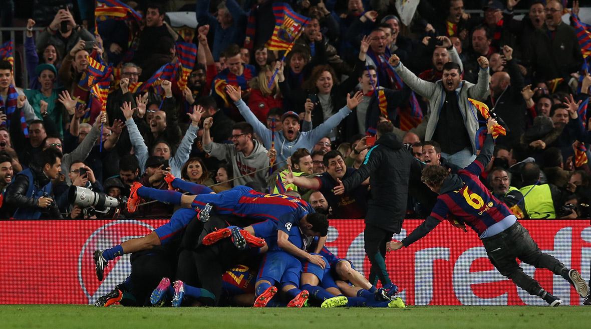 Barcelona v Paris St Germain