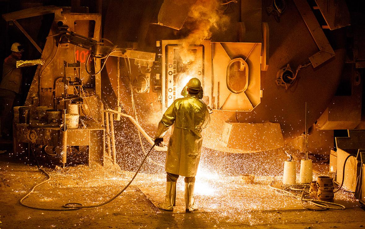 Salzgitter AG steelworks
