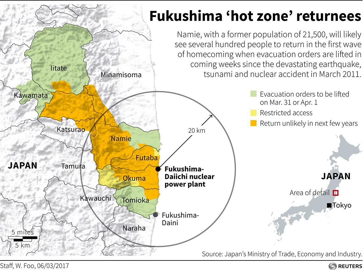 Fukushima wild boars