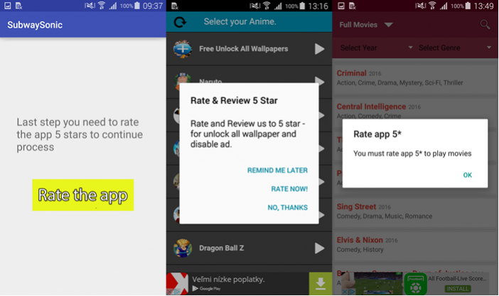 Malicious trojan Android app tricks users into giving good