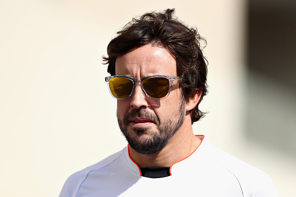 Honda's Fernando Alonso says everyone can win in F1 'except Honda' class=