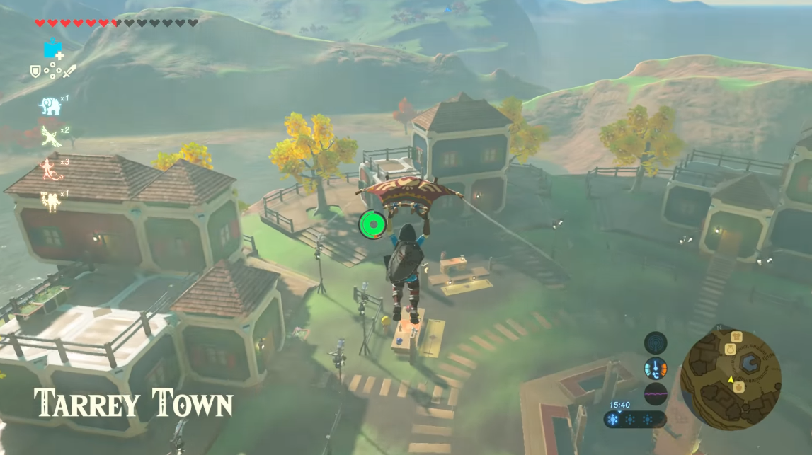 The Legend of Zelda: Breath of the Wild Tarrey Town & From The Ground Up quest guide