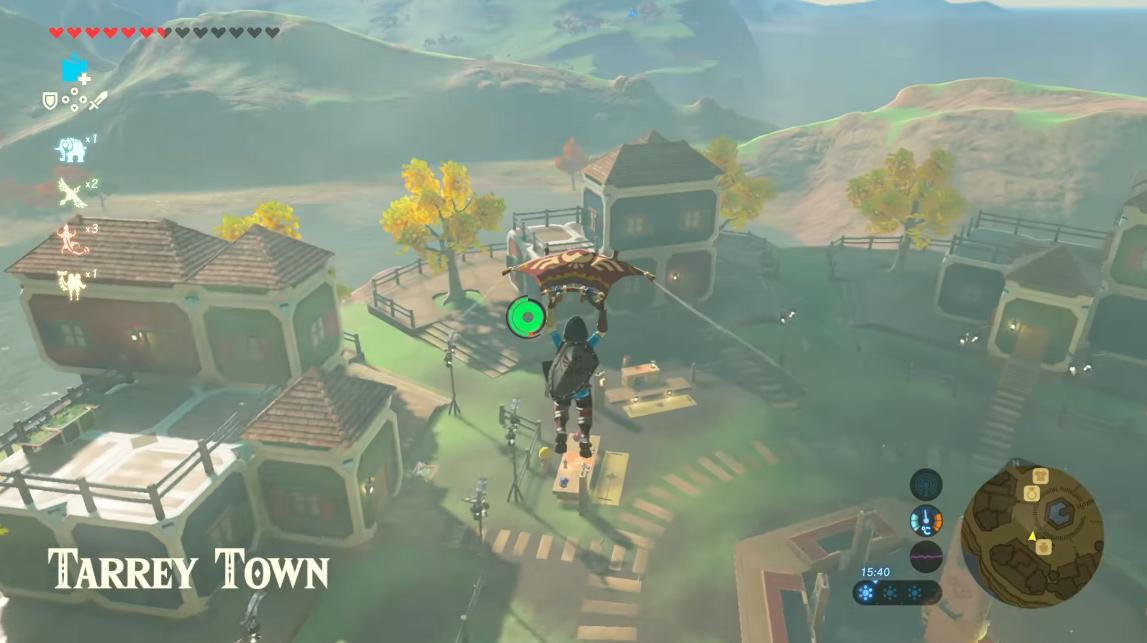 The Legend of Zelda Tarrey Town