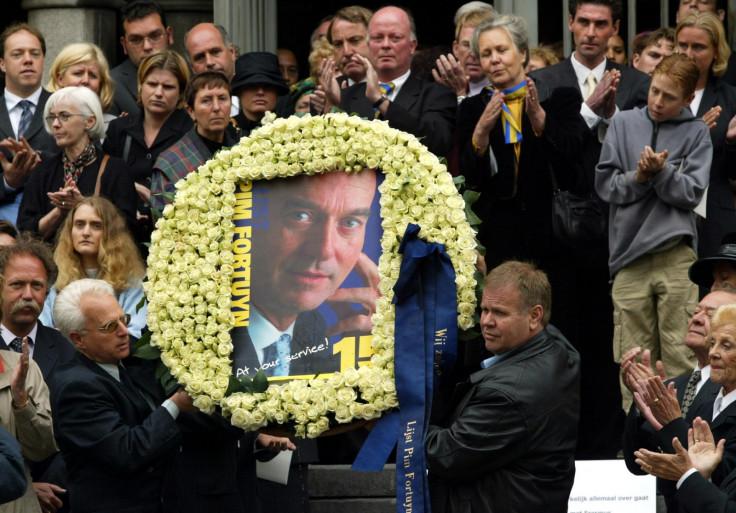 Pim Fortuyn funeral