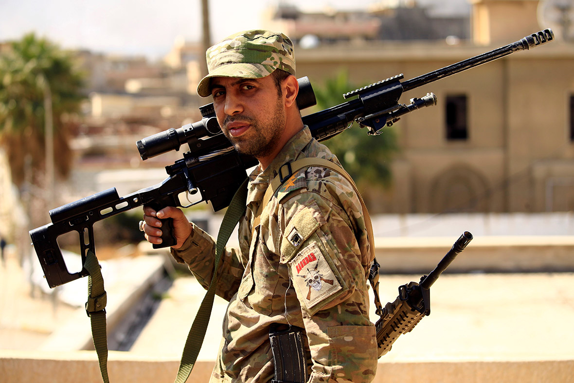 Mosul snipers