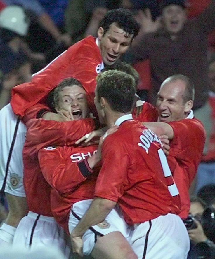 Manchester United 2-1 Bayern Munich