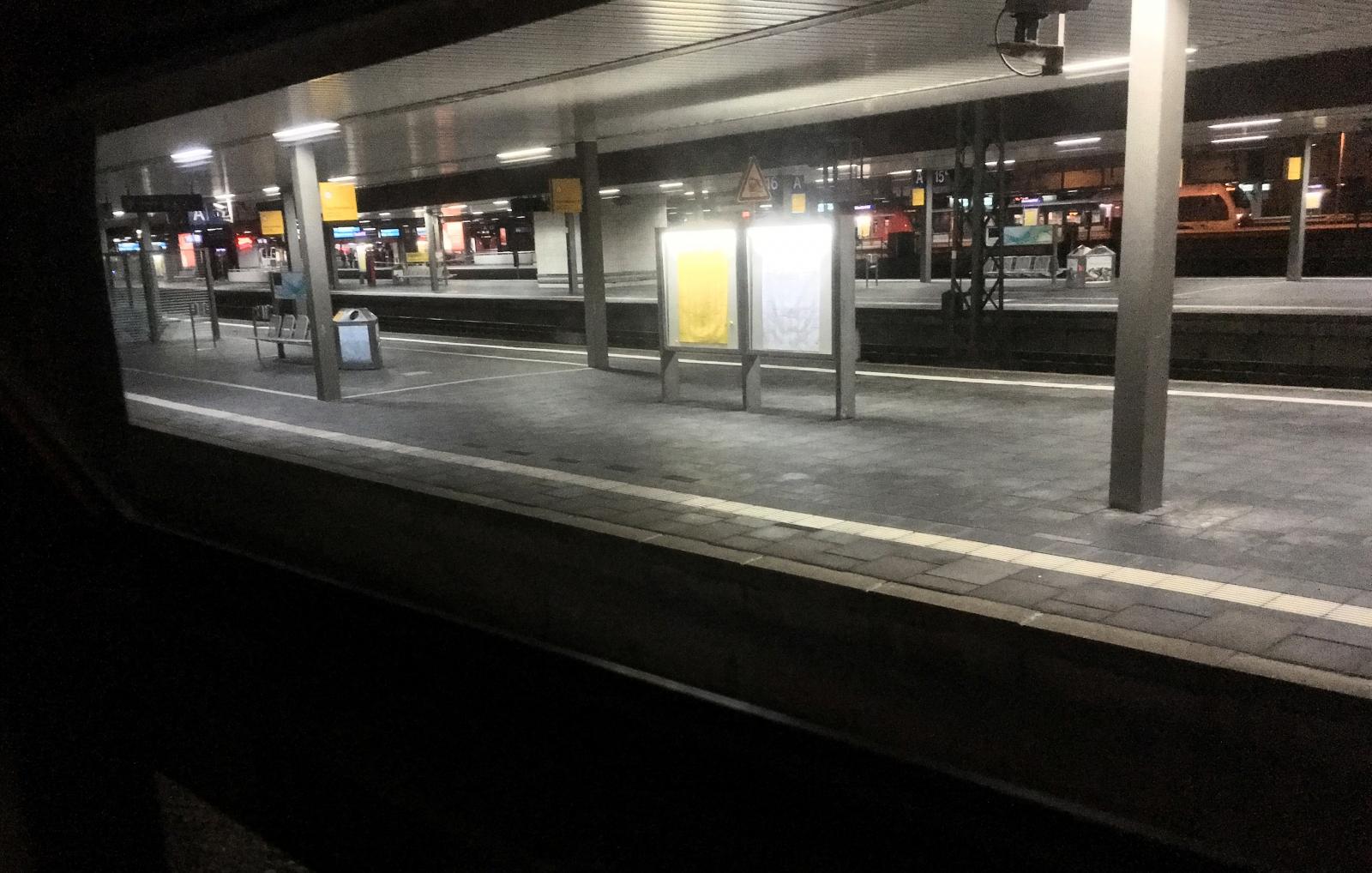Dusseldorf train station axe attack