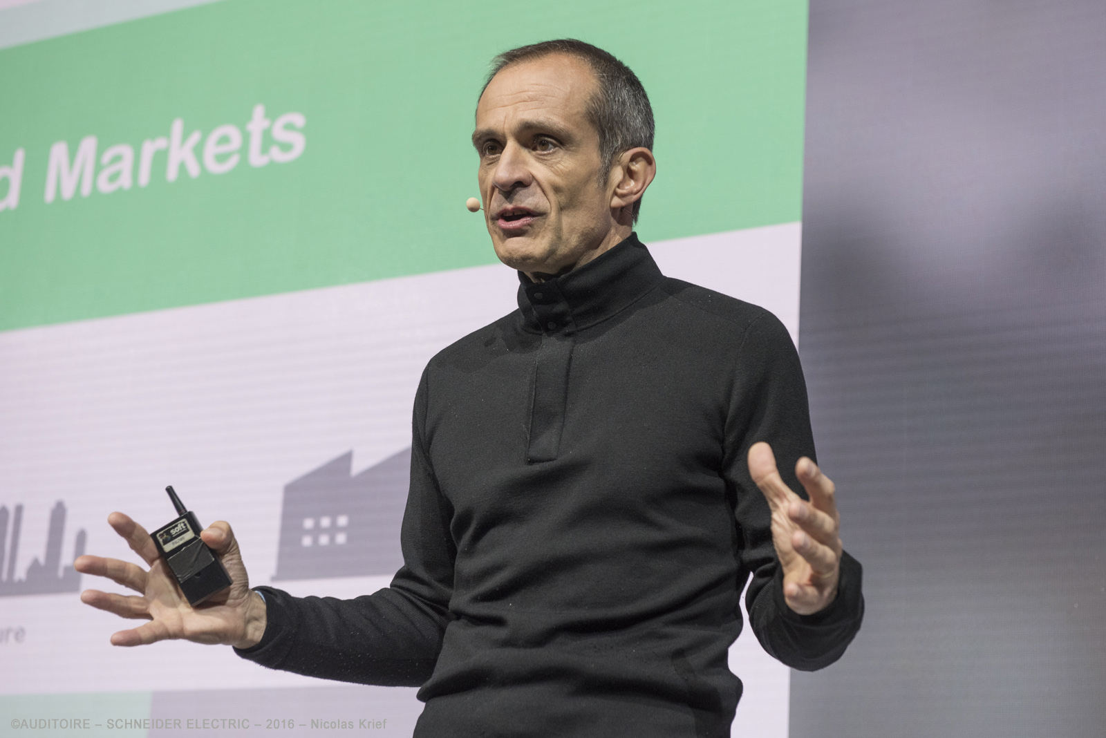 Jean-Pascal Tricoire, Schneider Electric