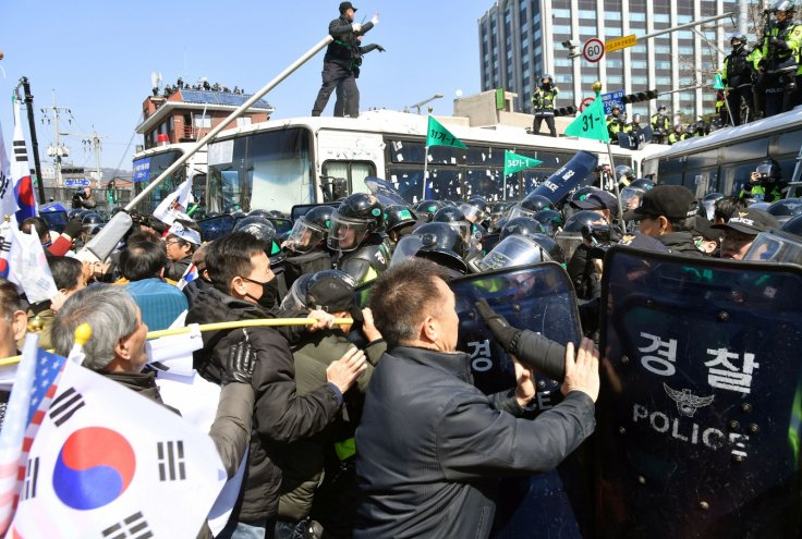 South Korea Park Geun-hye impeachment