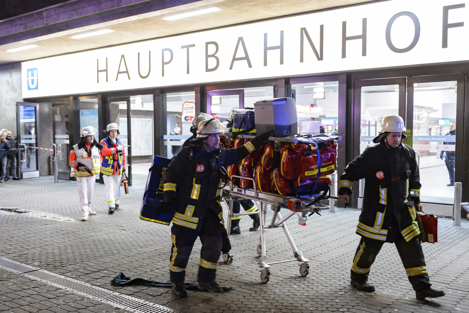 Dusseldorf train station attack