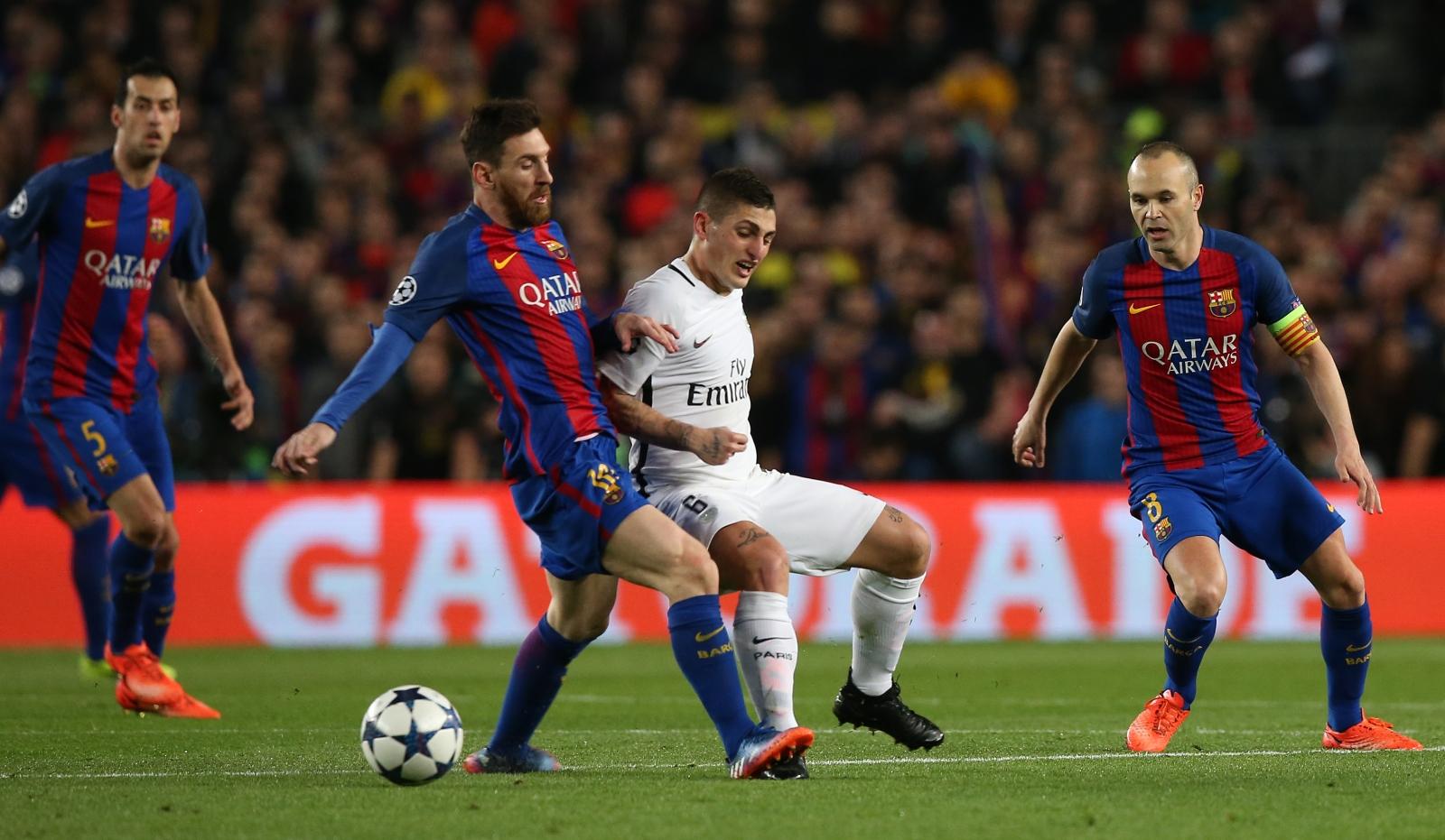 Lionel Messi & Marco Verratti