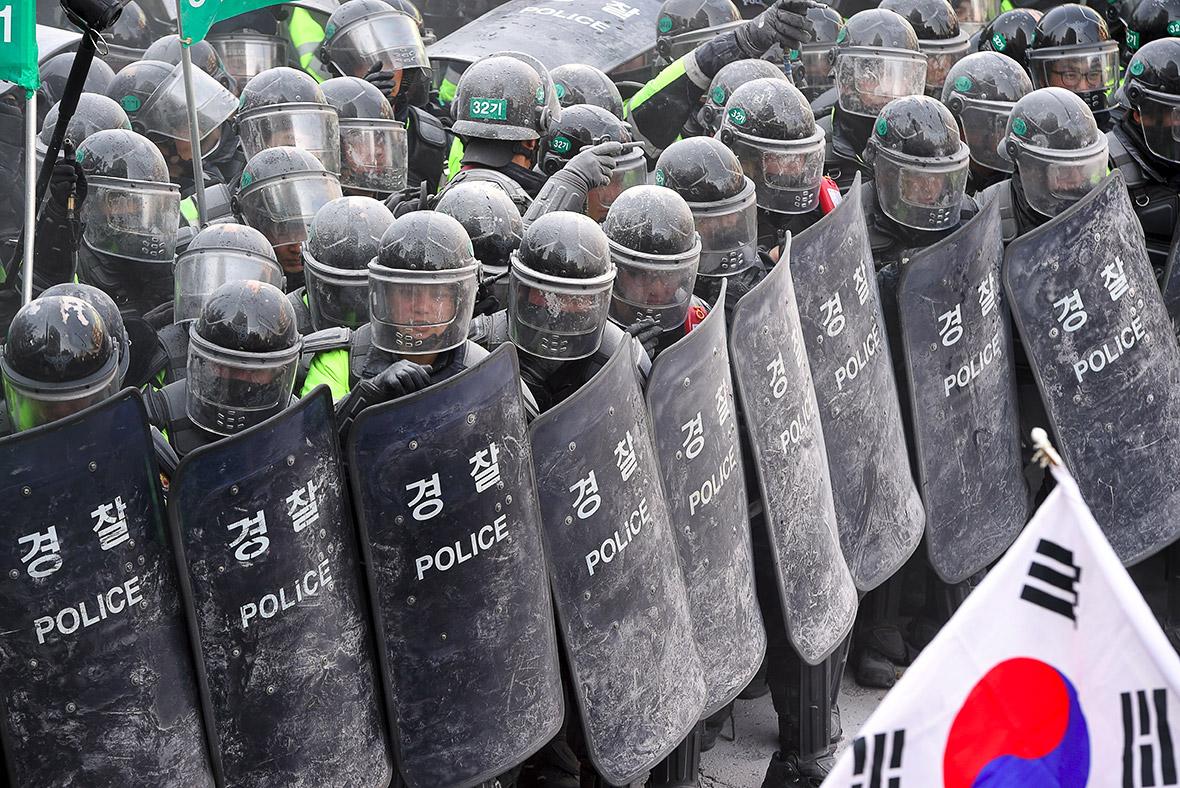 South Korea Park impeached