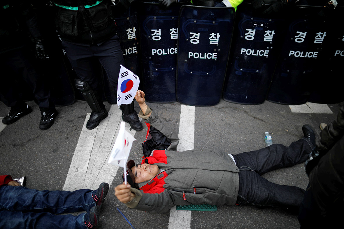 South Korea Park impeached