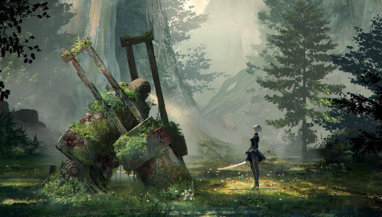 Nier Automata artwork
