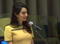 Amal Clooney UN speech