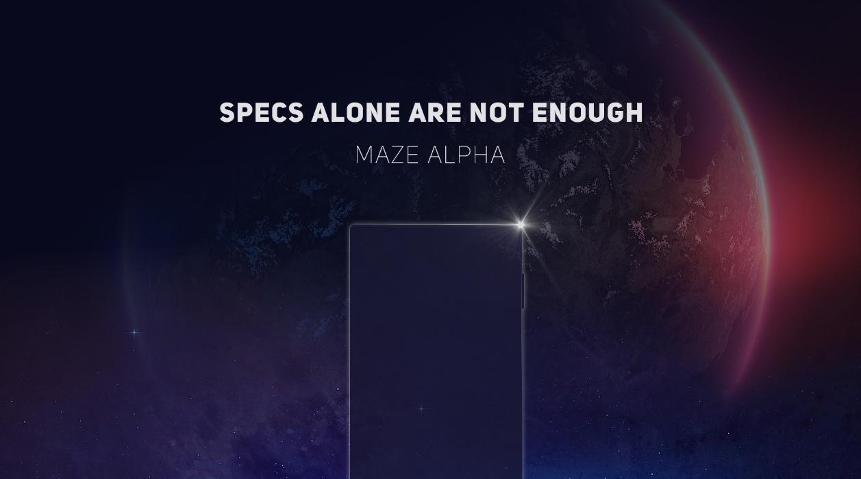 Maze Alpha smartphone teaser