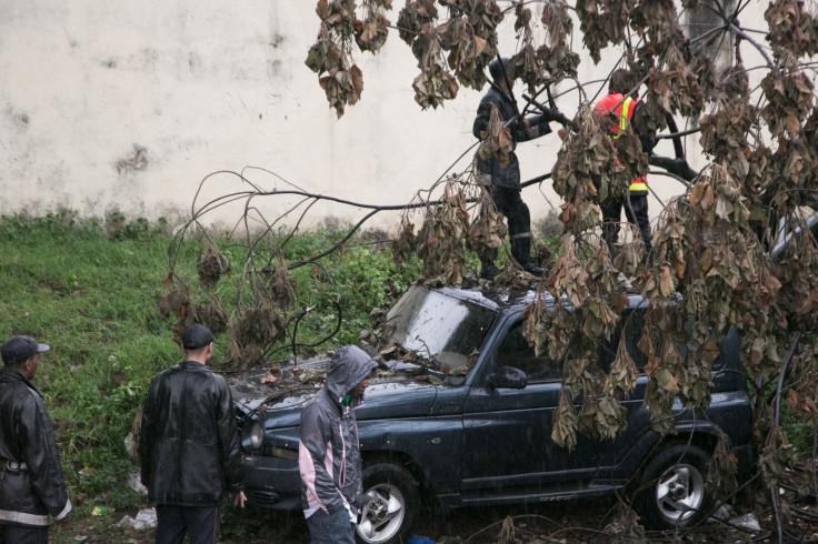 Madagascar cyclone