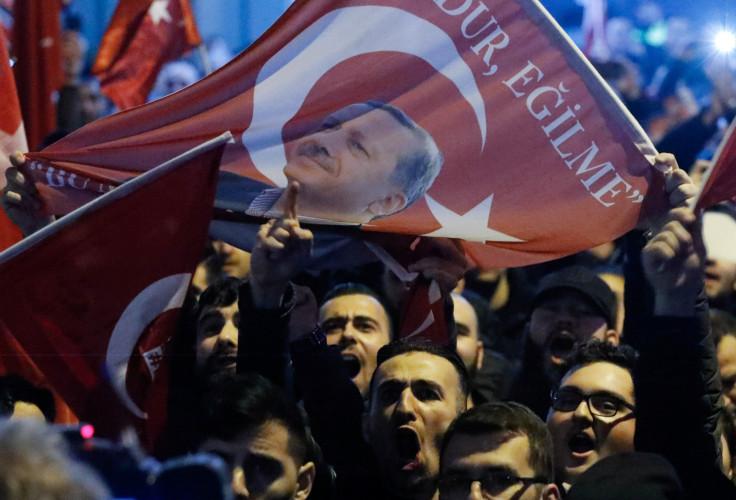 Turkey Rotterdam protests