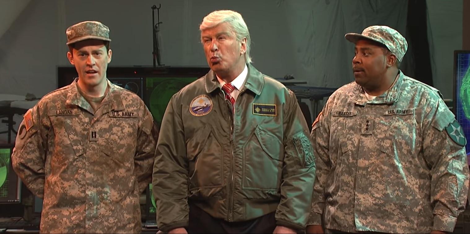 Trump Aliens SNL